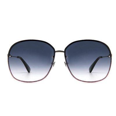 GUCCI 金蜂迪斯可夜 復古大圓方框眼鏡墨鏡  ▏羅蘭槍