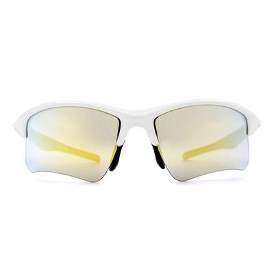 Nurbs 運動太陽眼鏡「時尚護眼框墨鏡 型」➣迎向陽光/旭日黃