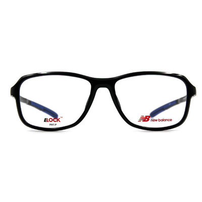 New Balance ELOCK 創行者輕量設計款眼鏡✦時尚黑/霧籃