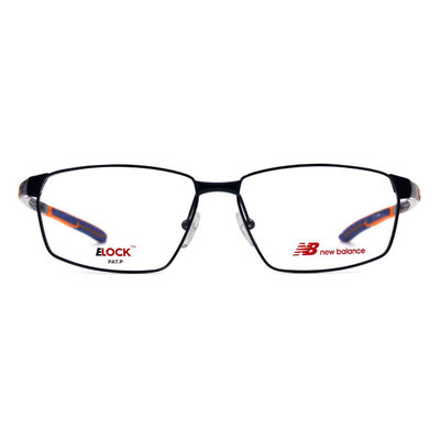 New Balance ELOCK 太空曲線彈力方框眼鏡✦活躍藍