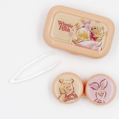 隱形眼鏡保存盒-小熊維尼系列—小熊維尼小豬款