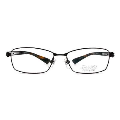 LineArt CHARMANT 藝術靈魂線條長方框眼鏡◆金沙咖