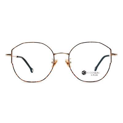 K-DESIGN K PLUS 微貓眼百搭學院款眼鏡◆夕海橙