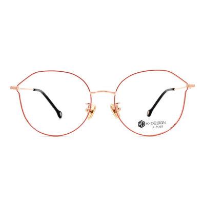 K-DESIGN K PLUS 繽紛樂園輕質貓眼框眼鏡◆糖霜金粉