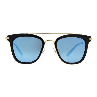 HORIEN 雙桿設計套圈個性款墨鏡♦光輝藍