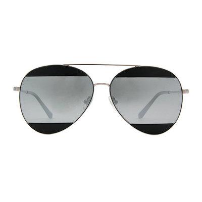 HORIEN 非凡設計雙甲雷朋款墨鏡♦專注灰