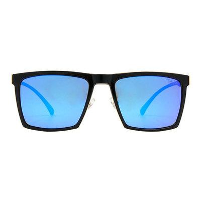 HORIEN 沉穩俐落輕式金屬方框墨鏡 ♦威尼斯藍