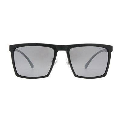 HORIEN 沉穩俐落輕式金屬方框墨鏡 ♦精銳黑