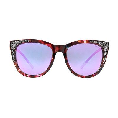 HORIEN 時尚派對雙色貓眼眶♦女王桃紫