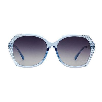 HORIEN 璀璨銀河菱格方框墨鏡 ♦聚焦藍