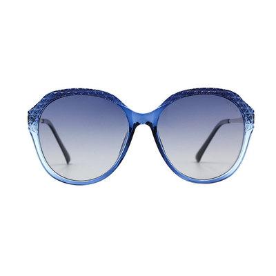 HORIEN 晶透菱格星鑽簡約款墨鏡♦繁星藍