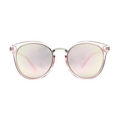 HORIEN 時尚簡約寬版貓眼框墨鏡 ♦高雅粉