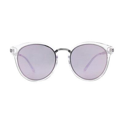 HORIEN 時尚簡約寬版貓眼框墨鏡 ♦晶澤紫