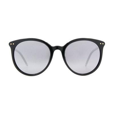 HORIEN 輕彈魅力貓眼框墨鏡 ♦時尚黑