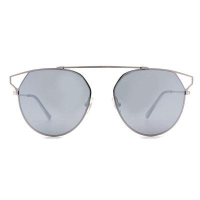 HORIEN 單甲簍空造型多邊框墨鏡 ♦迷城灰