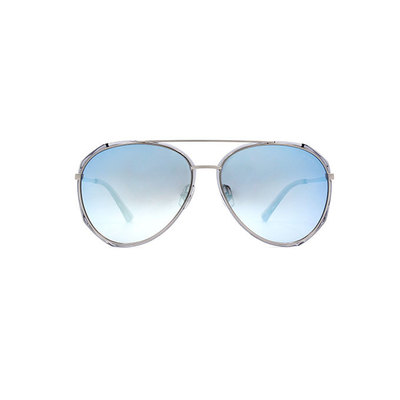 HORIEN 摩登年代雙甲飛官款墨鏡♦鏡水藍