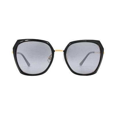HORIEN 時尚名媛菱格大方框墨鏡 ♦低奢黑