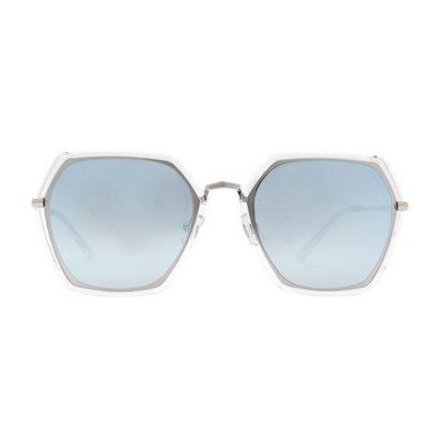 HORIEN 華麗舞台多邊設計款墨鏡♦水舞藍