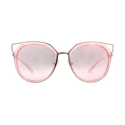 HORIEN 邊角簍空造型套圈框墨鏡 ♦晶圓粉