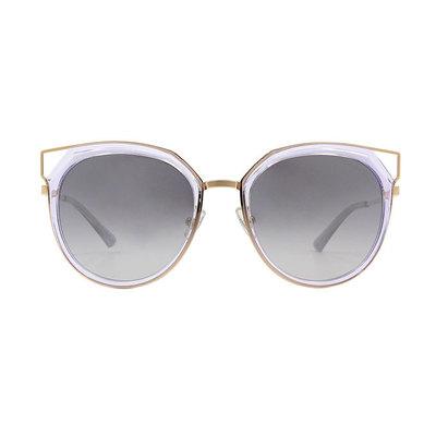 HORIEN 邊角簍空造型套圈框墨鏡 ♦恆采紫