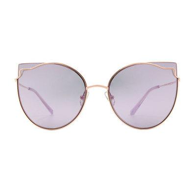 HORIEN 曼妙女伶鑲邊貓眼設計款墨鏡♦新貴紫