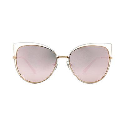 HORIEN 甜美簍空都會時尚款墨鏡♦白玫粉