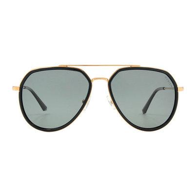 HORIEN 紳士飛官套圈設計款墨鏡♦黑耀金