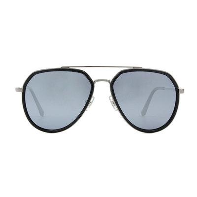 HORIEN 紳士飛官套圈設計款墨鏡♦灰鏡黑