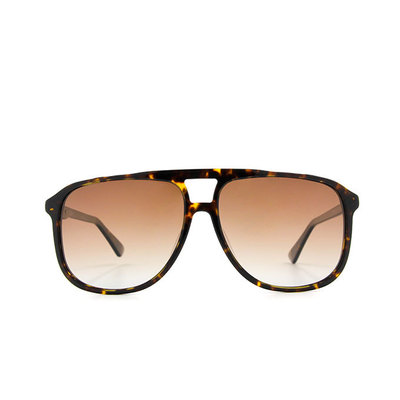 K-DESIGN19▼搖滾時代飛行框眼鏡墨鏡  琥珀棕