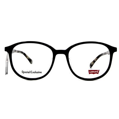 LEVI'S Special Exclusive-橢圓框眼鏡 炫酷騎士黑