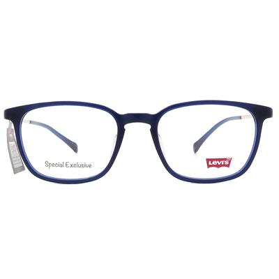 LEVI'S Special Exclusive-粗框眼鏡 精雕尼羅藍