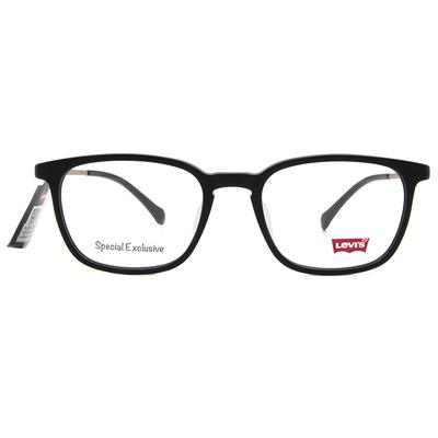 LEVI'S Special Exclusive-粗框眼鏡 精雕霧面黑