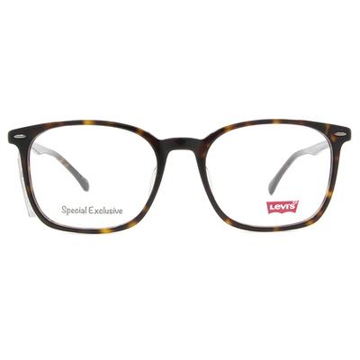 LEVI'S Special Exclusive-方框眼鏡 微醺玳瑁黑