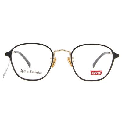 LEVI'S Special Exclusive-威靈頓框眼鏡 街頭鋼質黑