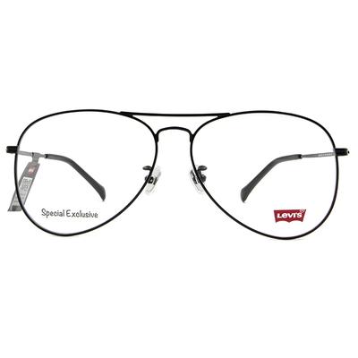 LEVI'S Special Exclusive-飛行框眼鏡 優雅紳士黑