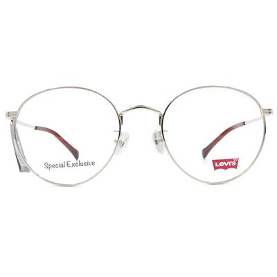 LEVI'S Special Exclusive-圓框眼鏡 亮眼透棗紅