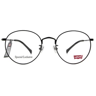 LEVI'S Special Exclusive-圓框眼鏡 霧面時代黑