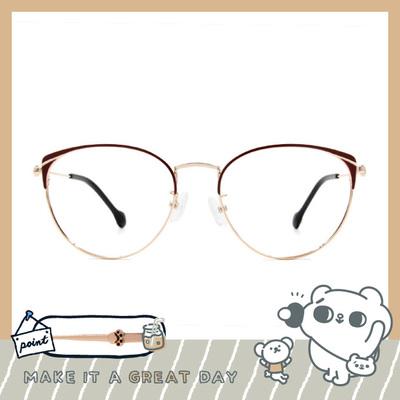 songsongmeow19 × 溫暖陪伴眉框眼鏡 暖酒紅