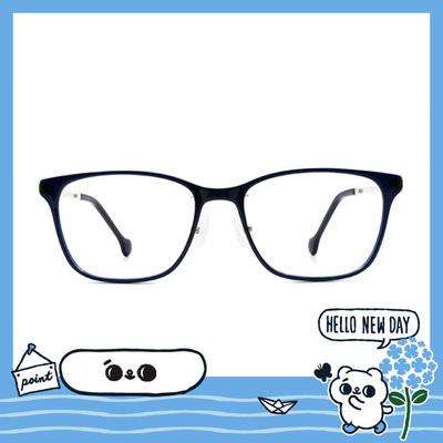 songsongmeow19 × 繽紛小世界大方框眼鏡 憂鬱藍