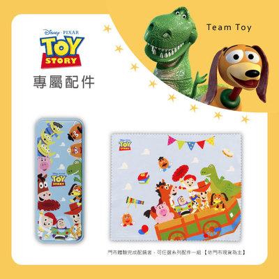 Toy Story × 胡迪方框眼鏡 驚奇冒險 ◆ 爵士銀