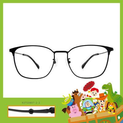 Toy Story × 巴斯光年眉框眼鏡 時光穿越 ◆ 墨水黑