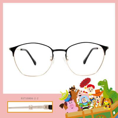 Toy Story × 巴斯光年眉框眼鏡 復古傳奇 ◆ 深海黑