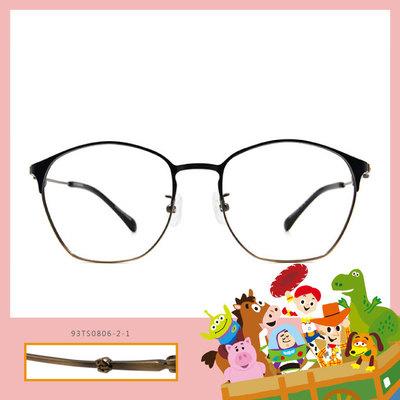 Toy Story × 巴斯光年眉框眼鏡 復古傳奇 ◆ 古銅金
