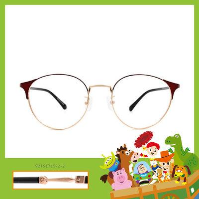 Toy Story × 巴斯光年眉框眼鏡 拯救地球 ◆ 紅梨色