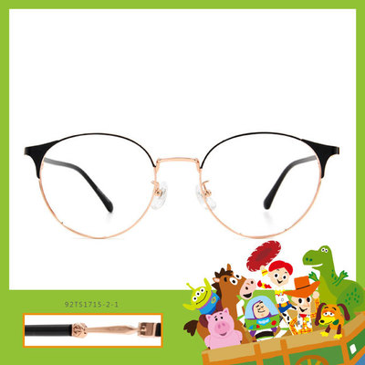 Toy Story × 巴斯光年眉框眼鏡 拯救地球 ◆ 精緻金