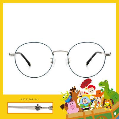Toy Story × 三眼怪橢圓框眼鏡 古靈精怪 ◆ 孔雀藍