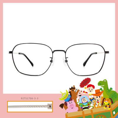 Toy Story × 胡迪方框眼鏡 復古繩紋 ◆ 珍珠灰