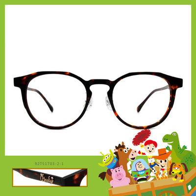 Toy Story × 胡迪粗方框眼鏡 簡約主義 ◆ 琥珀棕