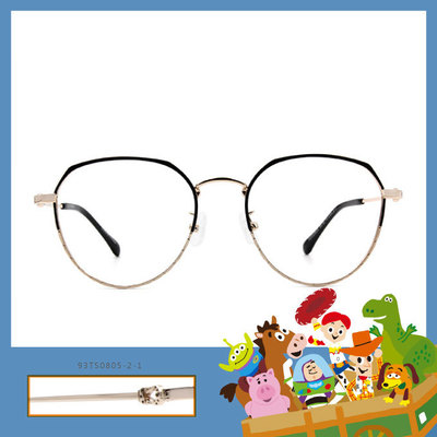 Toy Story × 胡迪眉框眼鏡 紅心陪伴 ◆ 蜜桃金