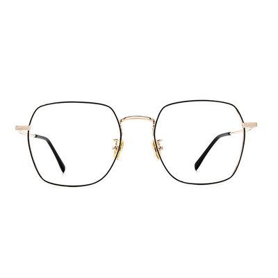 a/p lab▼時尚設計方框眼鏡 璀璨金